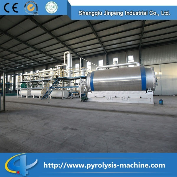 CE and ISO Certificate Waste Tire Pyrolysis Plant