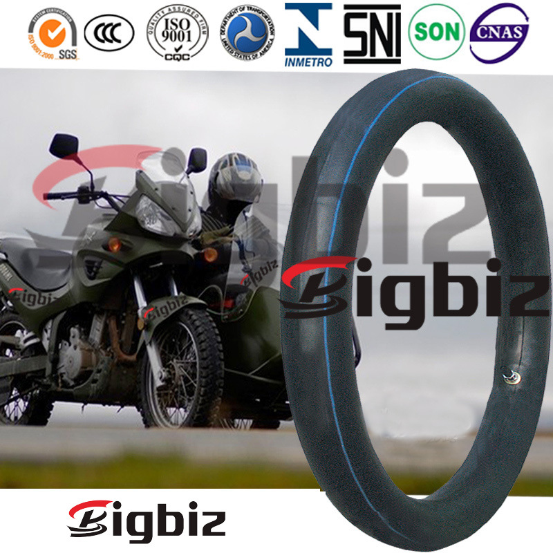 2.75-18 Butyl Rubber and Natural Rubber Motorcycle Inner Tube