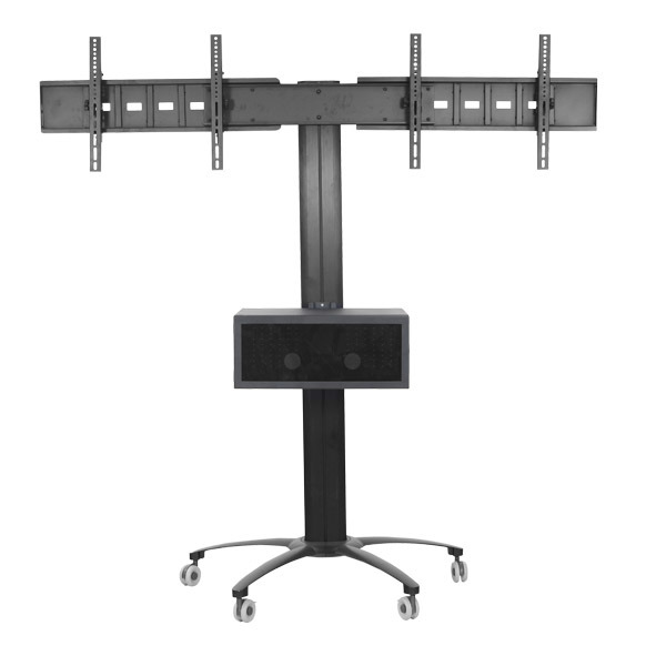 "Public TV Floor Stand Dual Screens 30-60"" (AVA 203A)"