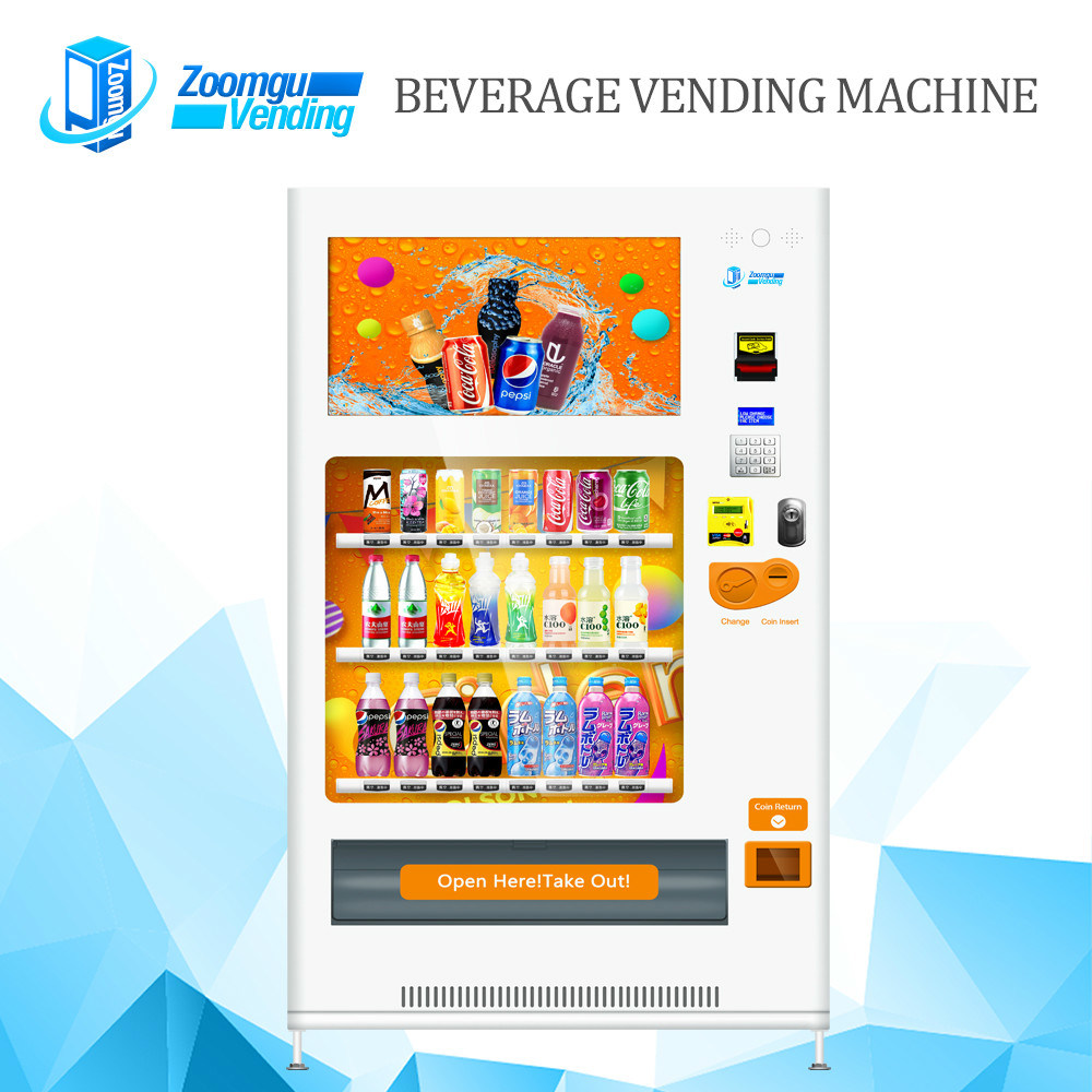 Large Screen Vending Machine for Cold Beverage Zg-Mcs (32HP)