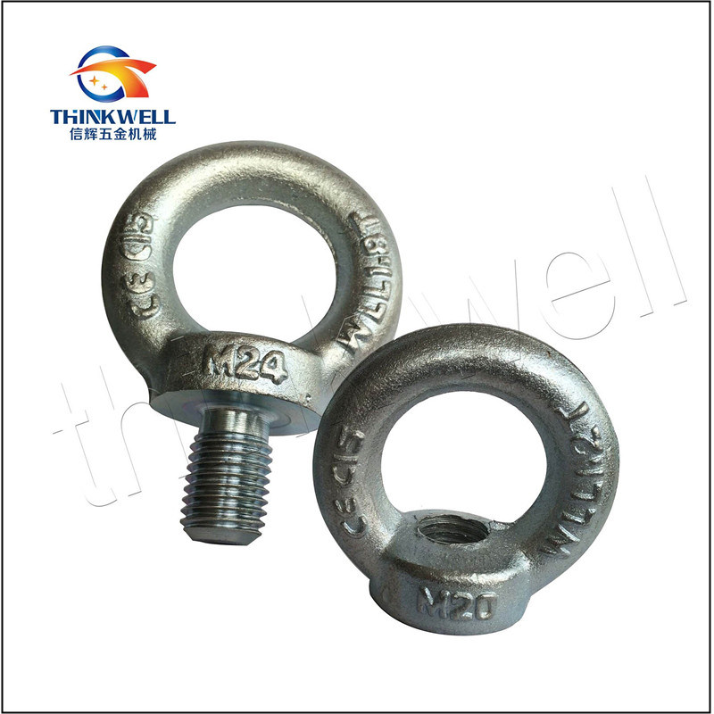 DIN580 Forged Steel Galvanized Eye Bolt and Nut