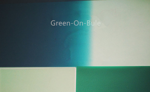 Thickness of 0.76mm Green-on-blue PVB Interlayer for Laminated Glass