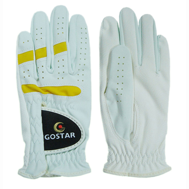 Men′s Synthetic Leather Golf Glove (PGL-12)