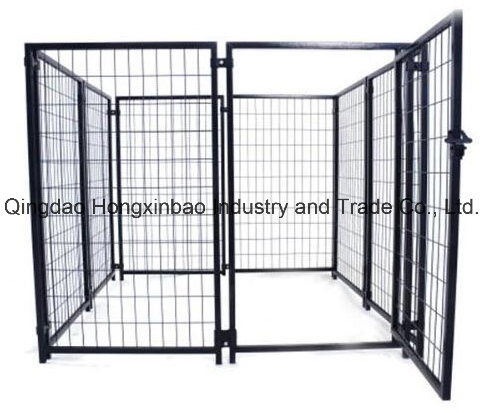 Outdoor Large Square Tube PVC Covered Dog Kennels