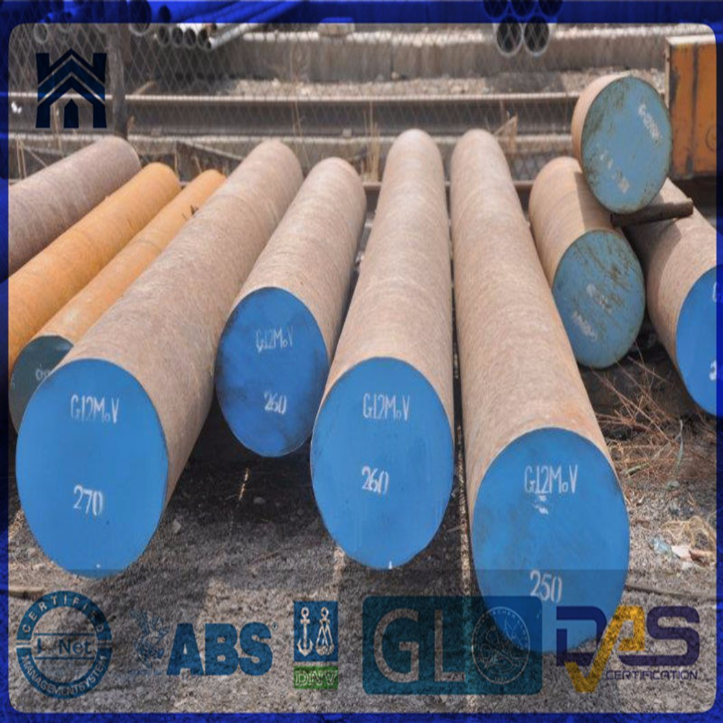 Hot Forged Alloy Steel Large-Sized Round Bar with Different Specification (45#/4140/ En19/...)
