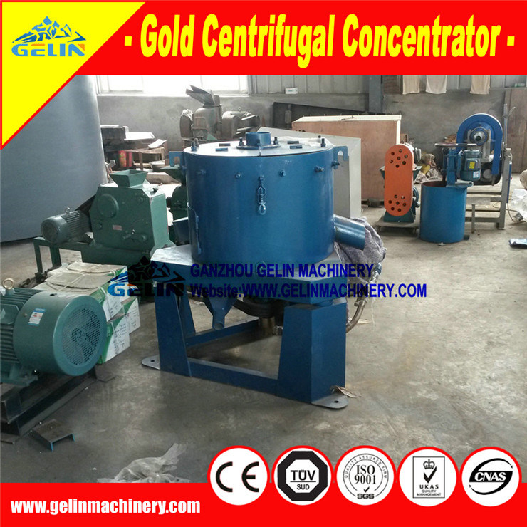 99% Alluvial Gold Mining Equipment Gold Centrifugal Concentrator