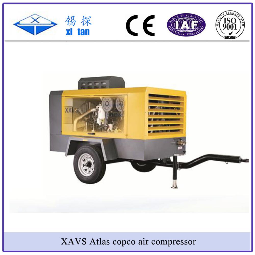 Atlas Copco Screw Air Compressor Xavs236 Air-C