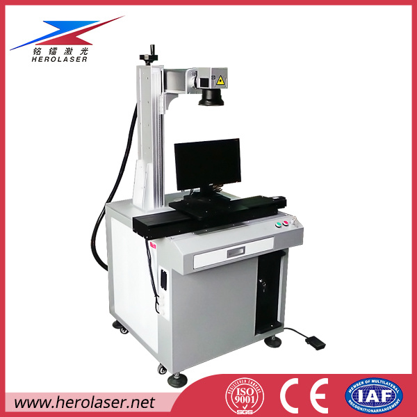 20W 30W 50W LED Bulbs Laser Marking Laser Printing Machine with Ipg