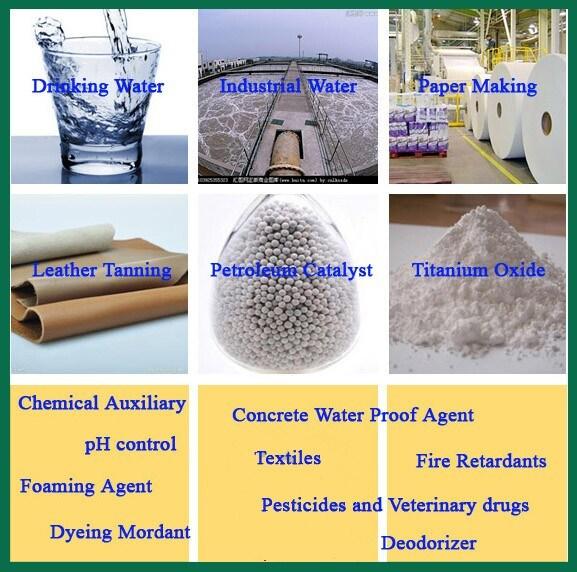 Aluminium Sulfate 15.8%, 17% Flake, Lumps, Powder, Granular