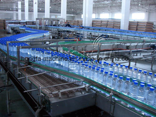 Bottle Conveyor for Water Filling Process