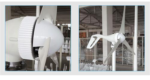 200W 12V 24V Wind Generator with Ce Certificate