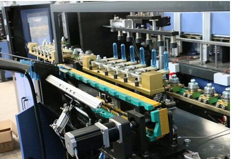 Automatic 4 Cavity Pet Bottle Making Machine