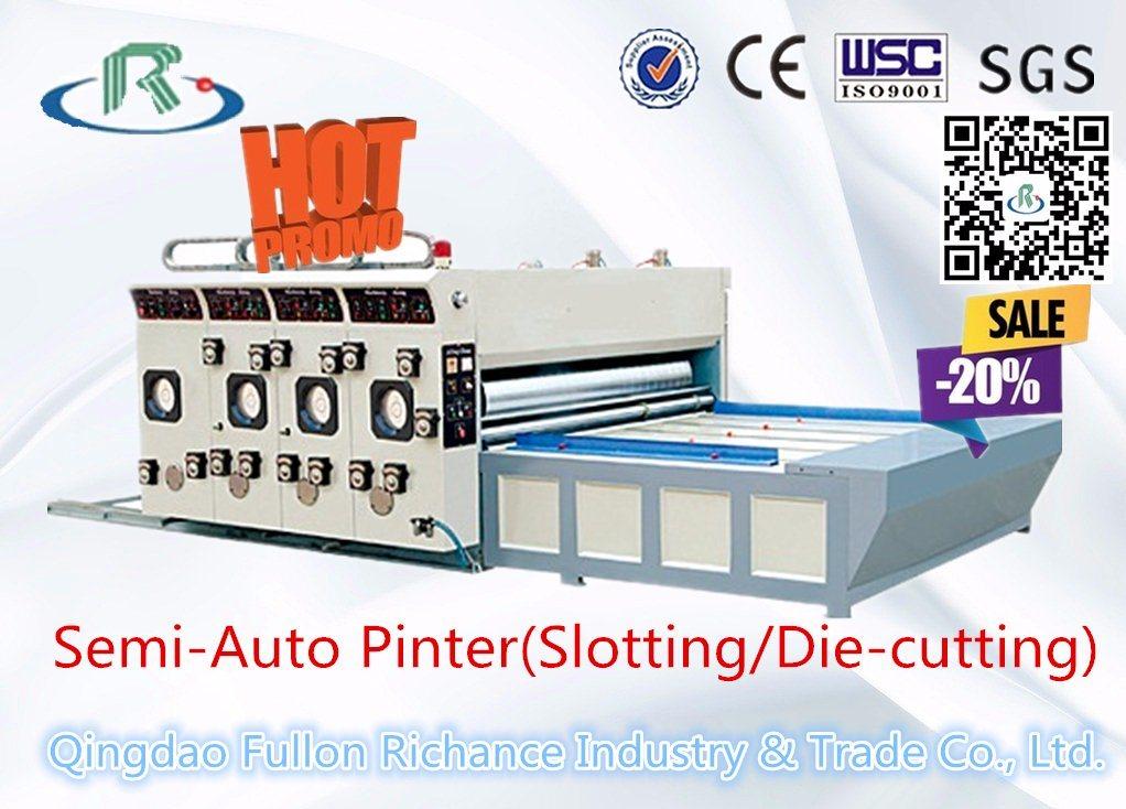 Low Price Semi-Automatic Printer Slotting Die Cutter
