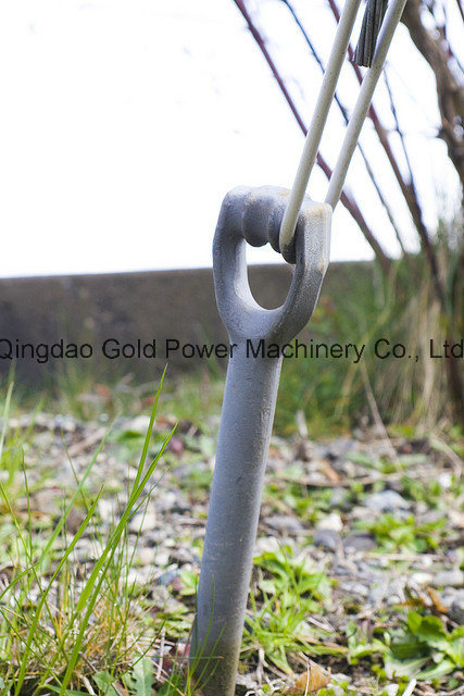 Electric Power Line Fittings Anchor Rod