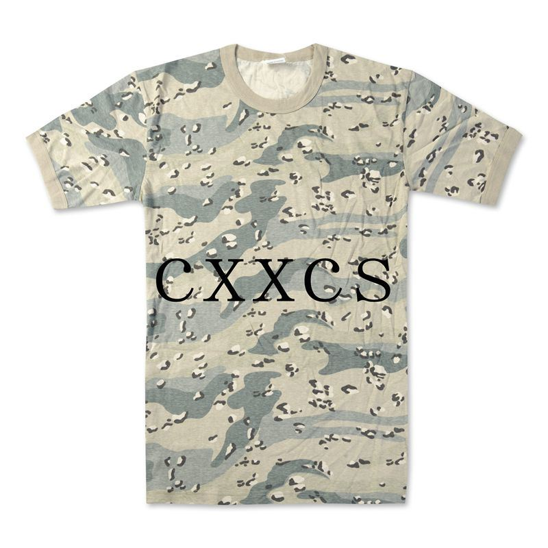 Camouflage Military Tshirt