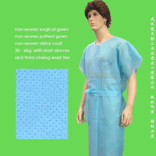 Disposable PP Patient Gown