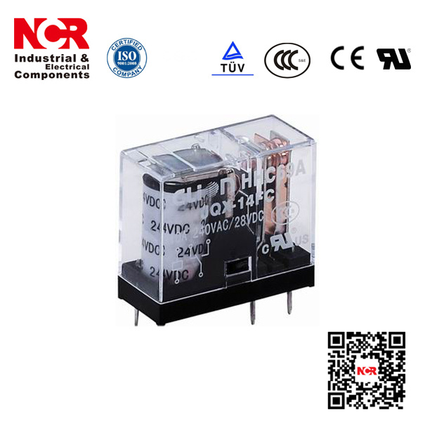24V Miniature PCB Relay (HHC69A)