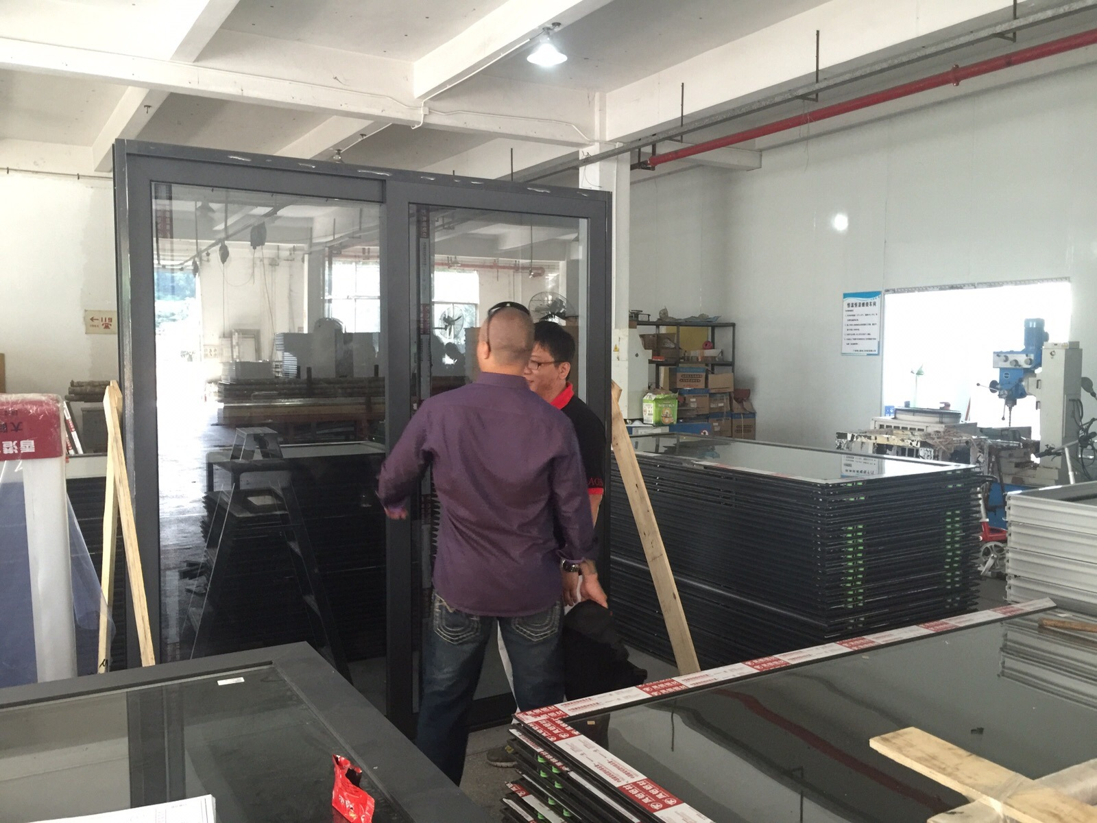 Hot Selling High Quality Customized Hotel Aluminum Sliding Door with Double Glazing