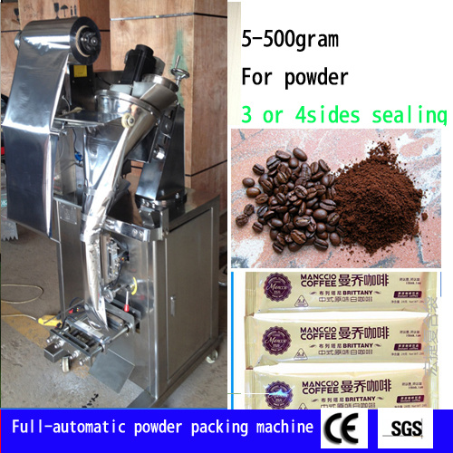 Powder Pouch Packag Machinery Coffee Pouch Powder