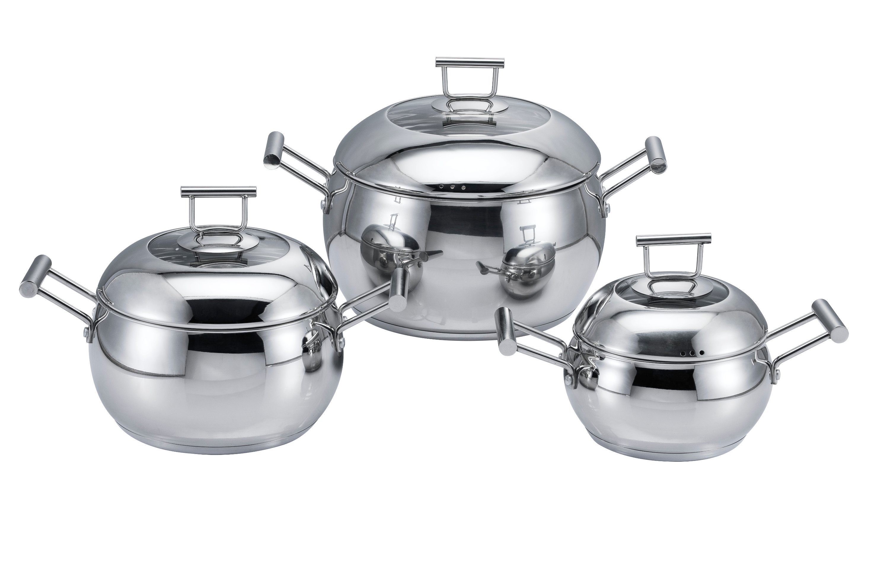 6 PCS Apple Cookware Set