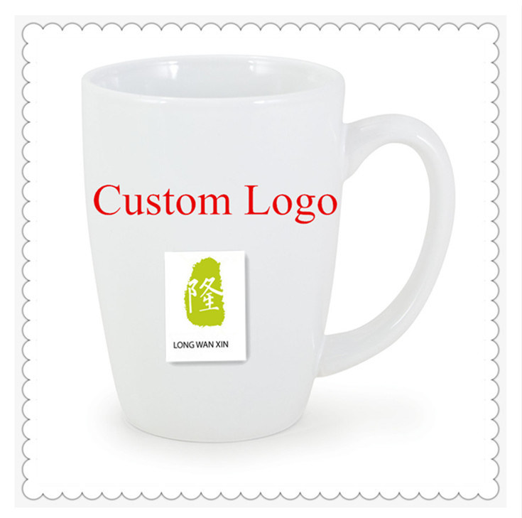 Customized High Quality White Ceramic Coffee Mug