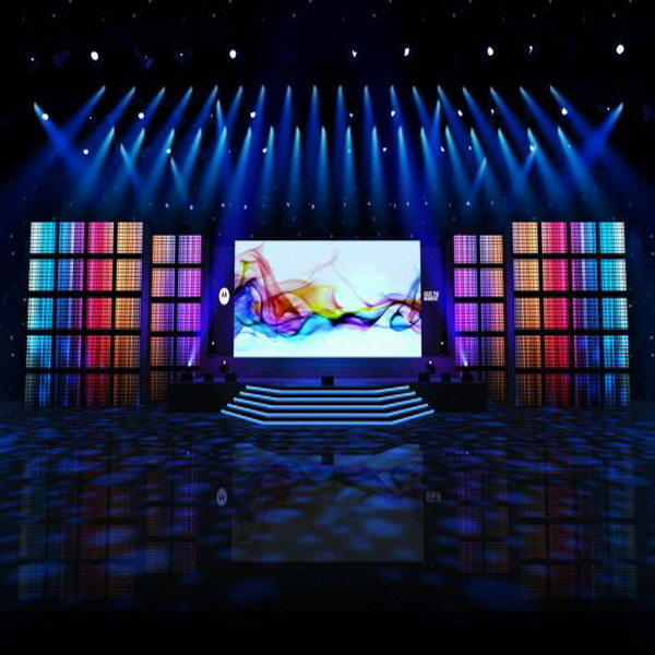 Excellent Flatness and Contrast  Outdoor Full Color P4 Rental LED Display Screen