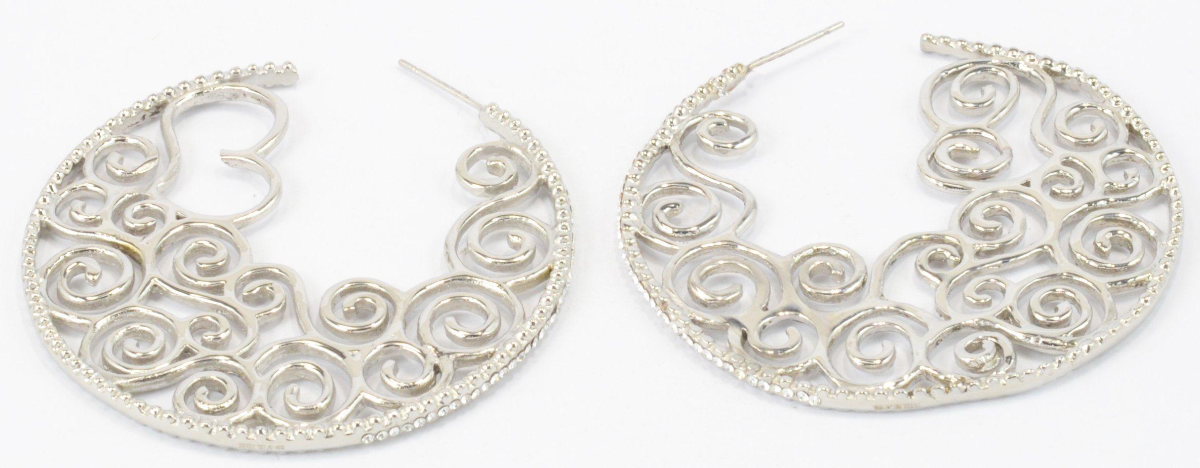Big Hoop Earrings Stainless Steel Earrings for Young Women Fashion Jwelleries