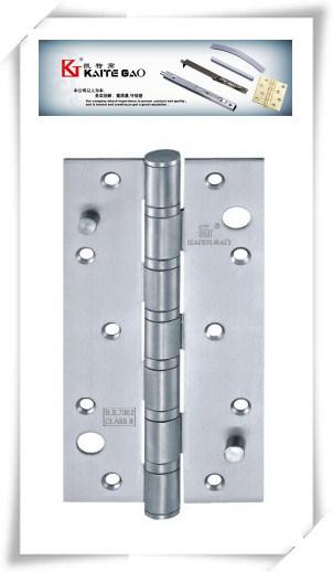 Satin Finish Double Hook Security Hinge for Wooden Door (3584-6BB)