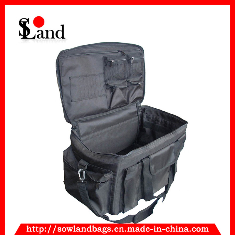 Black Heavy-Duty Police Gear Bag