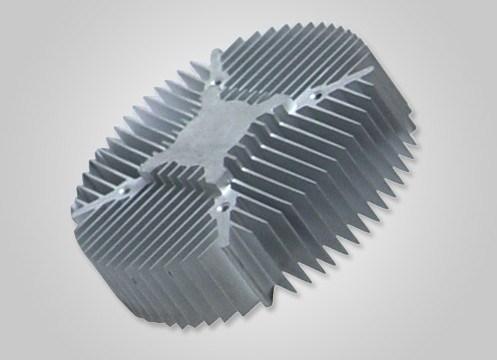 Large Section Aluminum Extrusion Heatsinks