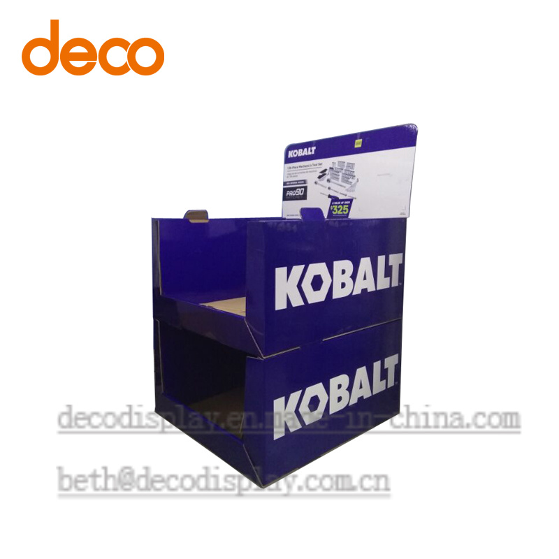 Floor Display Stand Pop Display Cardboard Display Box