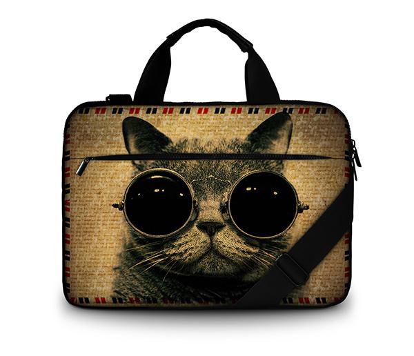 15.6 Customization Canvas Laptop Bag for MacBook/HP/Acer/Lenovo