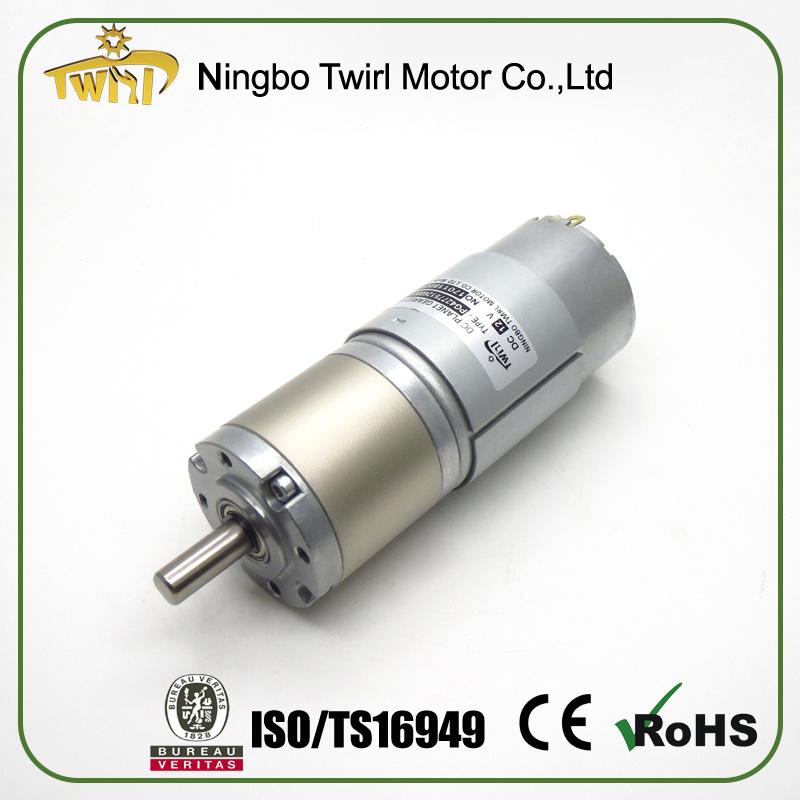 Motor Manufacturer 42mm 12 Volt DC Motor High Torque Low Rpm