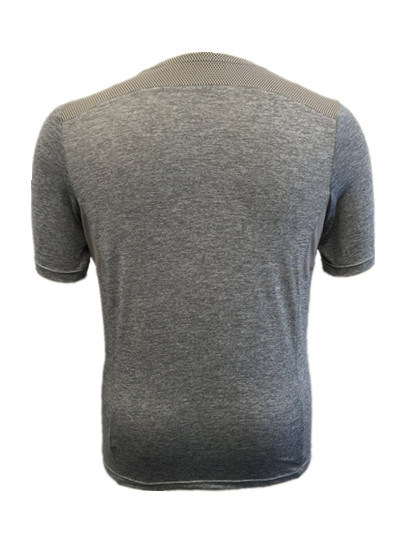 Men′s Knitted T-Shirt with Rounded Neck