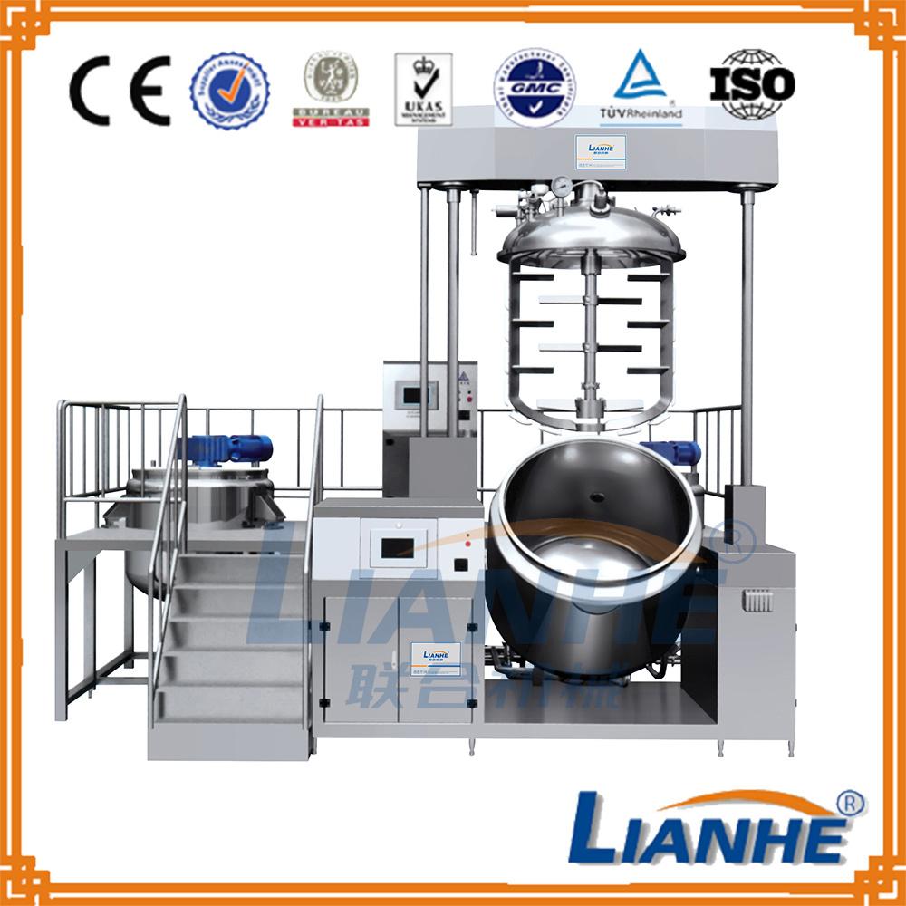 Cosmetic Cream Vacuum Emulsifying Machine Mixer for Beauty Product