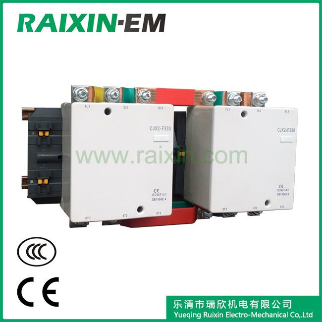 Raixin Cjx2-F330n Mechanical Interlocking Reversing AC Contactor