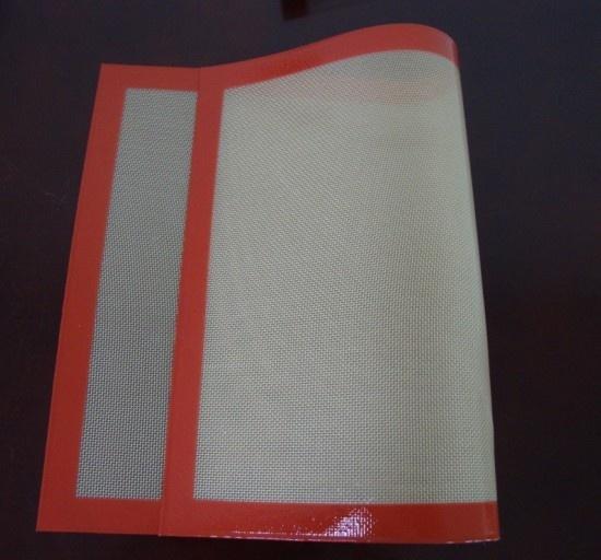 Colorful Edge Food Grade Silicone Baking Sheet