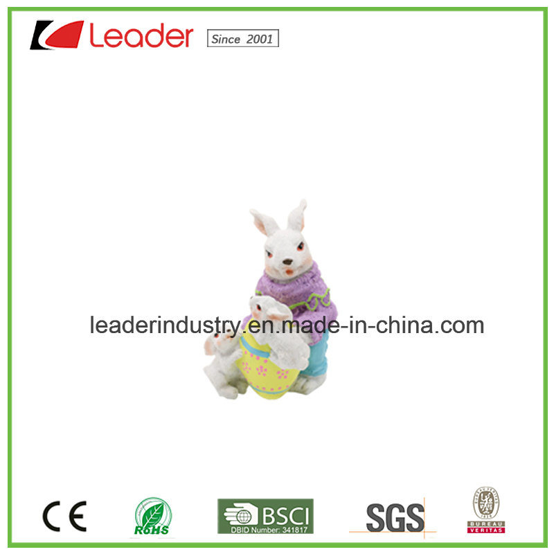 New Decorative Easter Rabbit Figurines for Home and Lawn Decoration