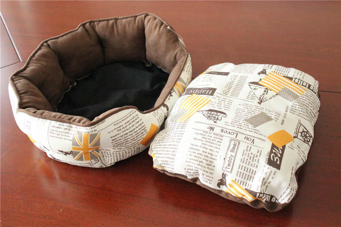 Aphrodite Pet Product Wear-Resistent Canvas Dog Bed Cat Bed