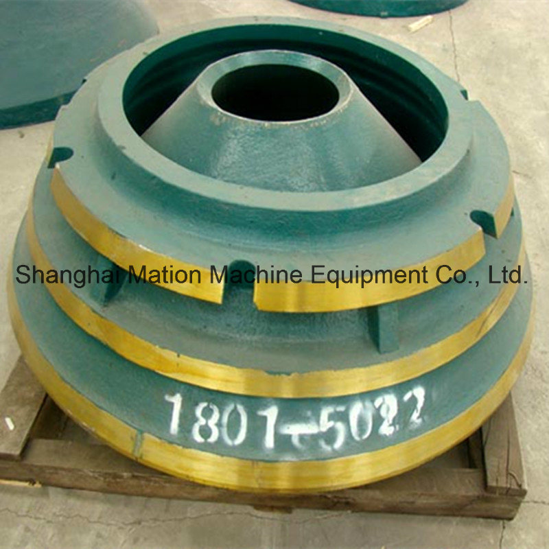 Customized HP Cone Crusher Bowl Liner