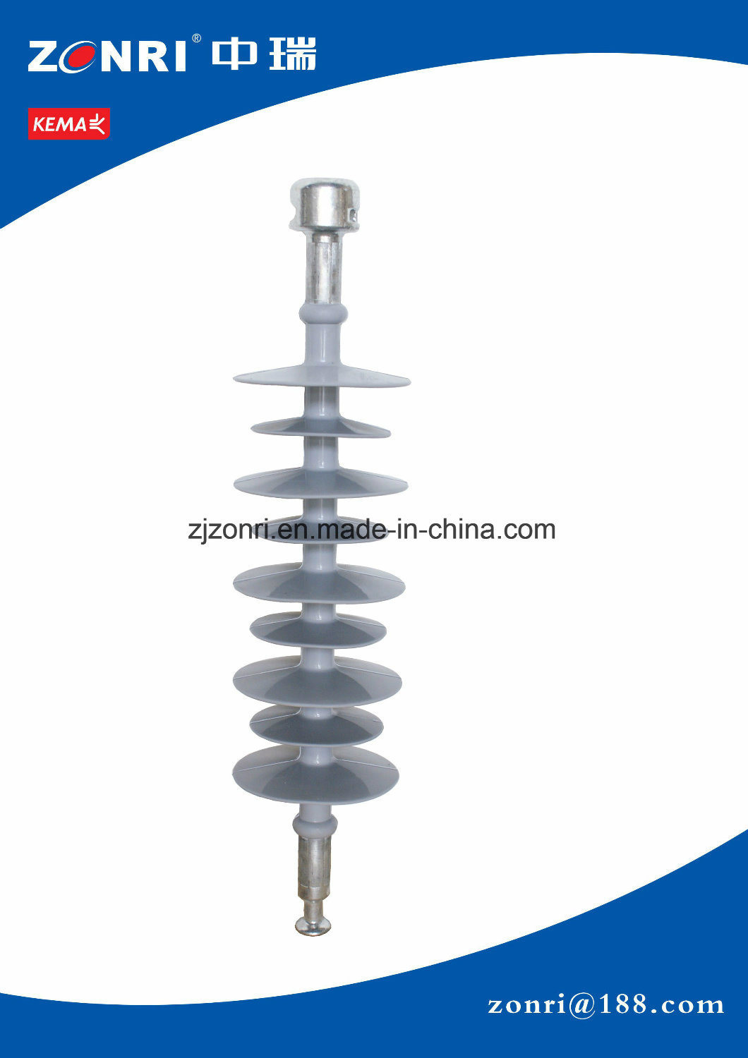 Export Insulator Suspension Type Fxbw-36/120-Sbfor Power Transmission