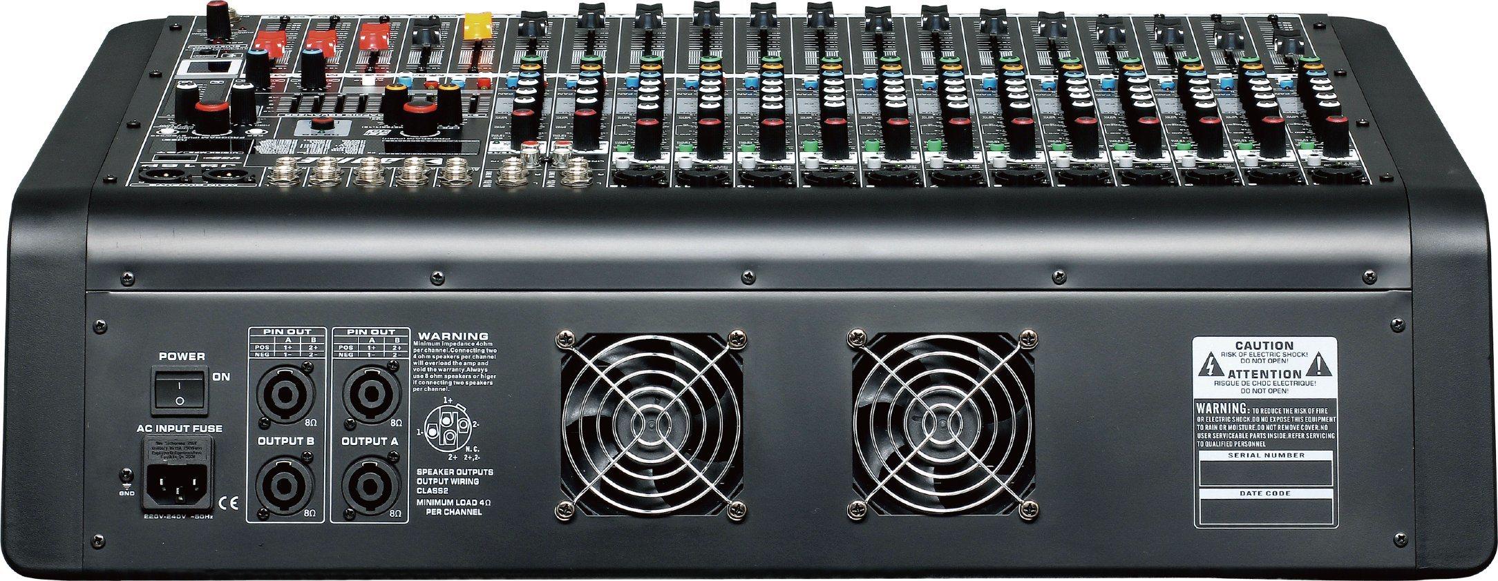 Special New Design Powered Mixer Js8p Series Professional Amplifier