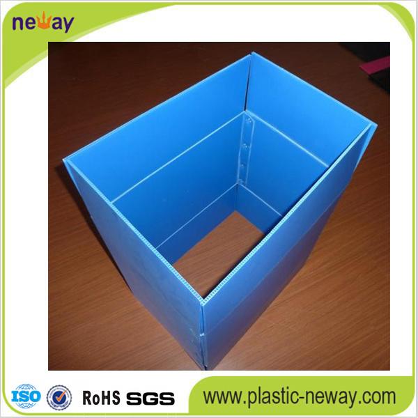 Folding Corrugated Plastic Container
