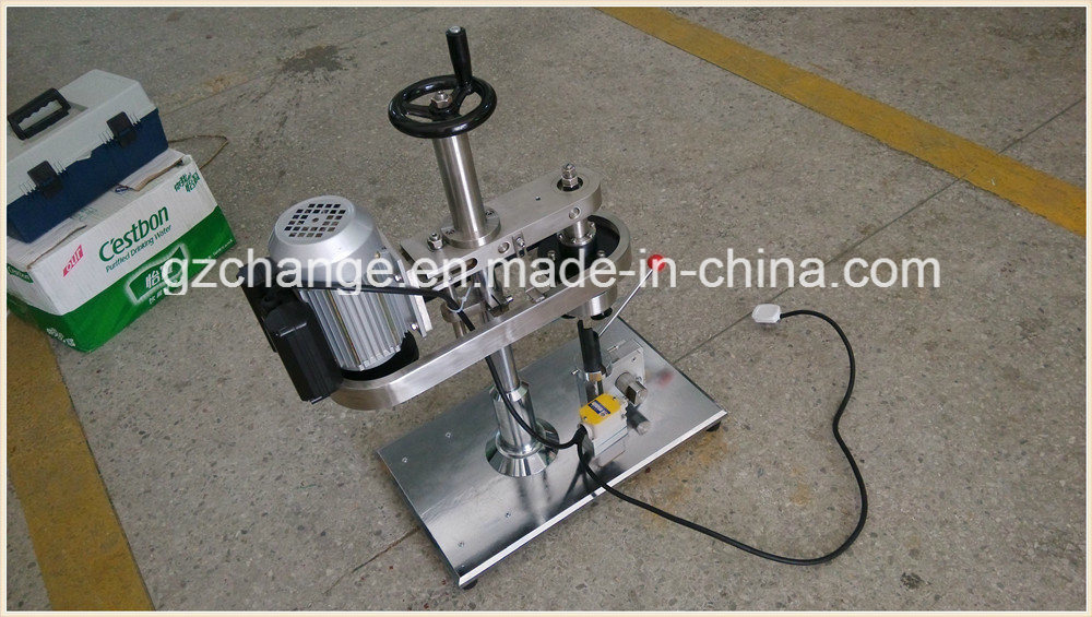 Semi-Auto Crimp Capping Machine for Vial Ampoule Penicillin Bottle