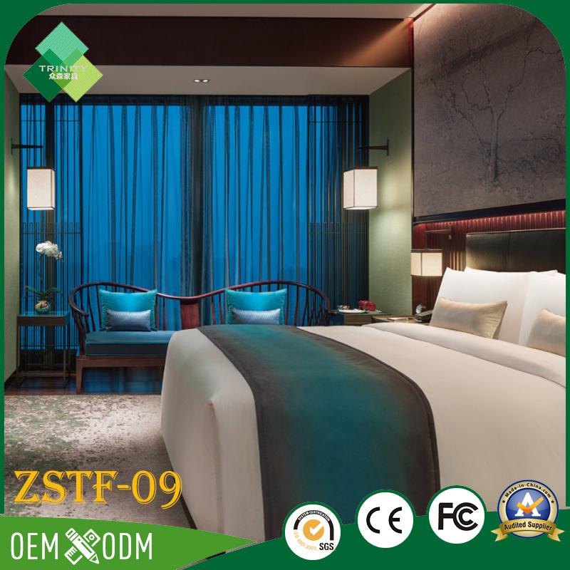 2017 Latest Fashion Top Design Luxury Bedroom Furniture Set (ZSTF-09)