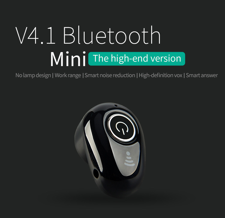 2017 Newest Mini Micro Invisible Hidden Ear Bluetooth Headphone Wireless