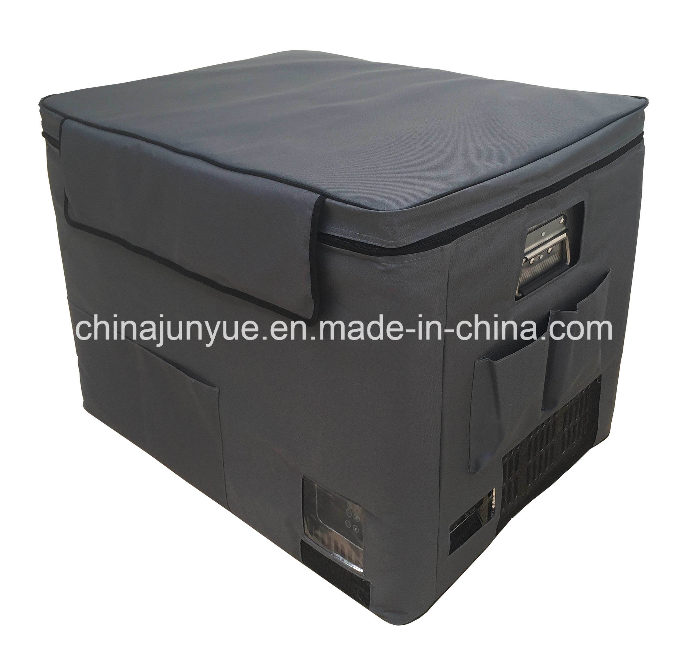 Bd/Bc-80L 12/24V DC Stainless Steel Chest Freezer Curved Bottom