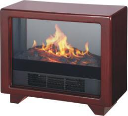Electric Heater Electric Fireplace with LED Flame Effect