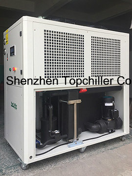 15.8kw Model AC-6A Air Cooled Water Chiller for Plastics Mixer