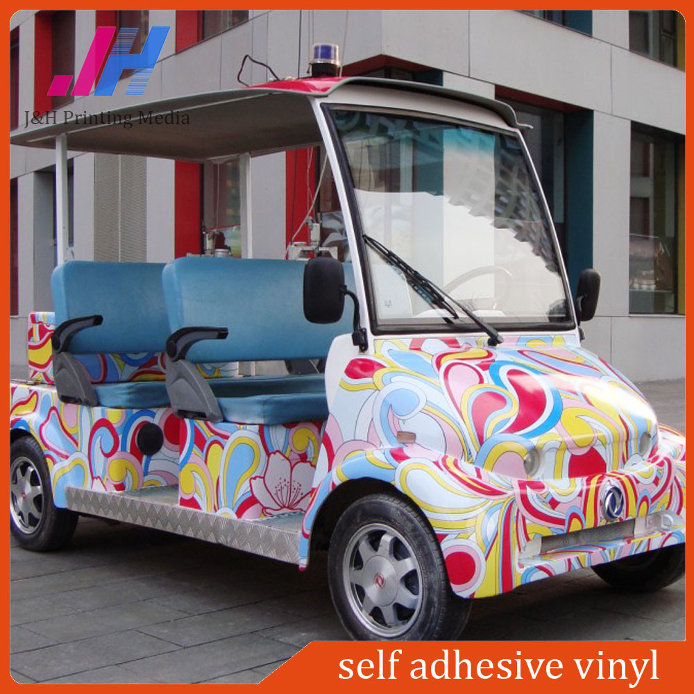 Self Adhesive Vinyl Sticker 140g